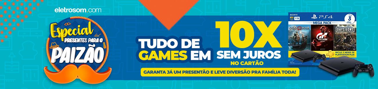 GAMES E BRINQUEDOS