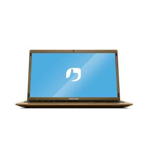 Notebook Positivo Motion Gold C4500E Intel Celeron 4GB 500GB HD 14,1'' LED Webcam HD Windows 10 Home - Dourado