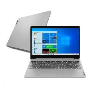 """Notebook Lenovo IdeaPad 3i-15IGL 82BU0001BR Intel Celeron N4020 4GB 128GB SSD 15.6"""" Windows 10 Prata"""