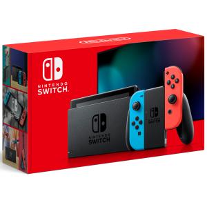 Nintendo Switch 32GB HAC-001-01 1 Controle Joy-Con -  Neon Azul Vermelho