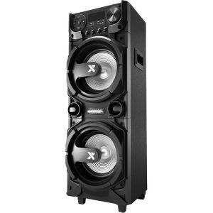 Torre Caixa De Som Amplificada CA5000 Bluetooth 1000W Preto-Lenoxx