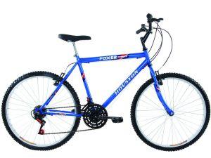 Bicicleta Foxer Hammer, Aro 26, 21 Marchas, Azul - Houston