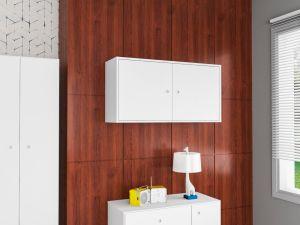 Armário para Cozinha Sun 2 Portas AE2080 Branco - Art In Móveis