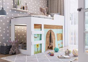 Cama Recreação Meu fofinho CM070 Branco - Art In Móveis