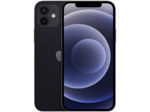 "iPhone 12  (64GB) Preto Tela 6,1"" 5G Câmera 12MP + 12MP iOS-Apple"