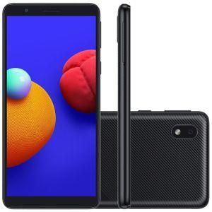 Celular Samsung Galaxy A01 Core Preto 32GB Tela 5.3 2GB RAM Camera 8MP