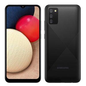 """Smartphone Samsung Galaxy A02S Preto, Tela 6.5"""", 4G+Wi-Fi, And. 10, Câm. Tras. de 13+2+2, Frontal de 5MP, 3GB RAM, 32GB"""