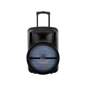 Caixa de Som Amplificada Lenoxx CA350 Bluetooth, Bateria Interna, Micro SD, USB e Karaokê, 500W RMS