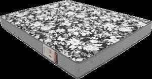 Colchão de Espuma Physical Ultra Resistente D26 Floral Cinza 138X188X20- Ortobom