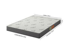 Colchão de Casal Confortex D33 138X188X17 - Plumatex