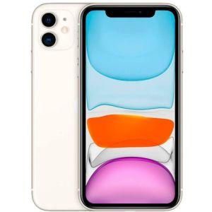 """iPhone 11 Branco , com Tela de 6,1"""", 4G, 64 GB e Câmera de 12 MP  - Apple"""