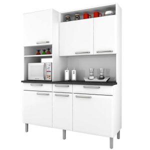 Cozinha Compacta Regina - Branco neve - Itatiaia Aço