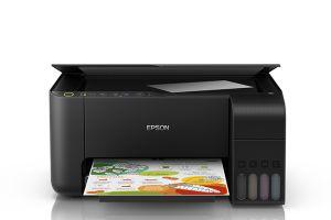 Impressora Multifuncional Epson EcoTank L3150 Tanque de Tinta Colorida Wi-Fi Direct USB Bivolt