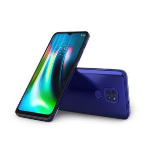 Smartphone  Moto G9 Play Azul Safira XT2083-1 -  Motorola
