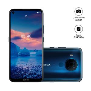 Smartphone  5.4 Core Tela 6,5 RAM 3GB Android Azul -Nokia