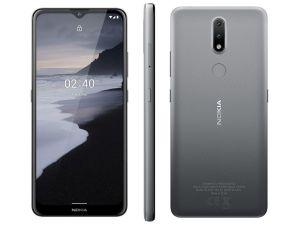 Smartphone 2.4 6,5HD+ 64GB, 3GB Ram Android Câm.Traseira 13+2MP Cinza  - Nokia