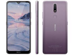 Smartphone 2.4 Roxo 6,5HD+ 64GB, 3GB Ram Android Câm.Traseira 13+2MP - Nokia