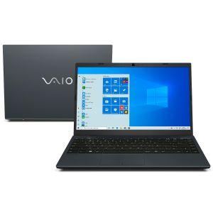 "Notebook Vaio FE14 VJFE42F11X-B0461H Intel Core i5-10210U 8GB 1 TB 2,5"" HDD14"" Full HD Windows 10 Home - Chumbo Escuro"