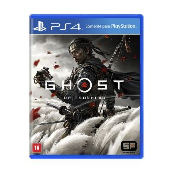 Jogo Ghost Of Tsushima para PS4 - Sony