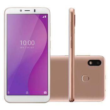 Smartphone Multilaser G 32GB 1GB Octa Core P9133 Dourado