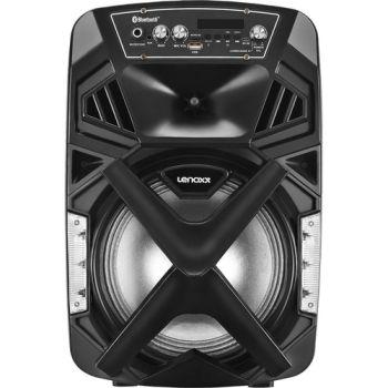 Caixa De Som Amplificada CA101 Bluetooth 150W Preto Bivolt- Lenoxx