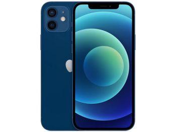 """iPhone 12  (64GB) Azul Tela 6,1"""" 5G Câmera 12MP + 12MP iOS-Apple"""