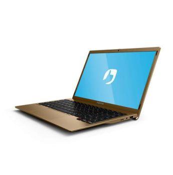 Notebook Positivo Motion  Q464C Intel Atom Quad Core 4GB 64GB 14,1'' - Dourado
