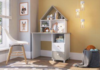 Escrivaninha para estudos CH020 Branco  - Art In Móveis
