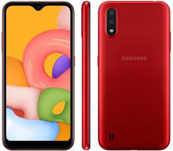 Smartphone Galaxy A01 32GB 4G Octa-Core 2GB RAM Tela 5,7 Vermelho - Samsung