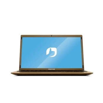 Notebook Positivo Motion Q4128C 4GB 128GB SSD Windows 10 - Dourado + PACOTE OFFICE PERSONAL 365 POR 1 ANO