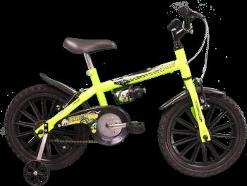 Bicicleta Dino Neon, Aro 16, Amarelo Neon - Track & Bikes