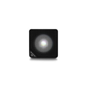 Caixa de Som Cubo Speaker com 3W Luz de LED Conexão USB Bluetooth AUX Entrada Cartão Micro SD Preto - SP305 - Multilaser
