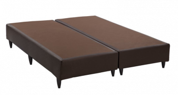 Base p/ Cama Box Courino Marrom 158x198x30 - Ortobom