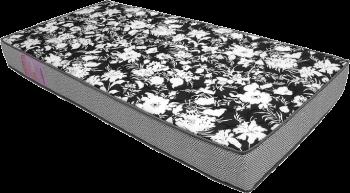 Colchão de Espuma Physical Ultra Resistente D26 Floral Cinza 88X188X20 - Ortobom