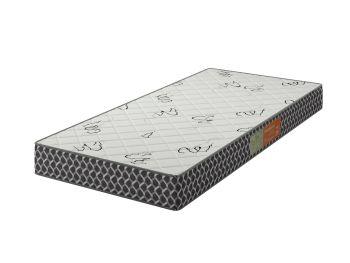 Colchão de Solteiro Confortex D33 88X188X14 Branco/Preto - Plumatex