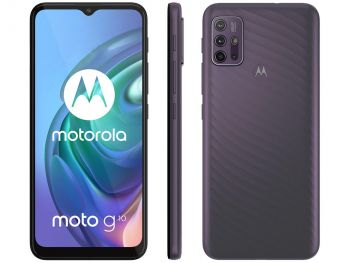 "Smartphone Moto G10 6.5"" Octa Core 64GB 4GB Câmera Quádrupla Cinza Quadriband- Motorola"