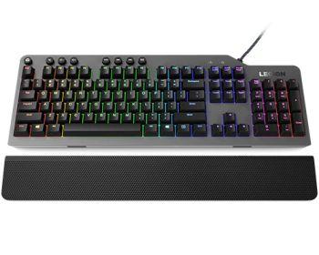 Teclado Mecânico Gamer K500 Legion retroiluminado - Lenovo