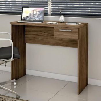 Mesa Escrivaninha Office 0,90 Nogal - Notável