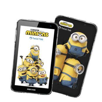 Tablet Infantil Positivo Minions 32GB Memoria Bivolt - Preto