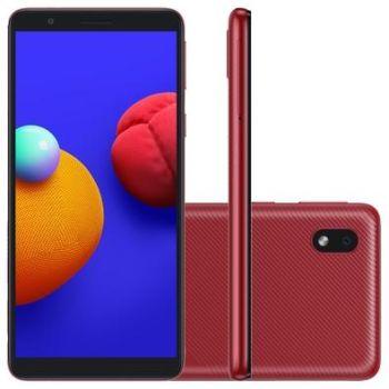 Celular Samsung Galaxy A01 Core Vermelho 32GB Tela 5.3 2GB RAM Camera 8MP