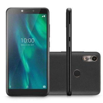 "Smartphone Multilaser F P9130 32GB Dual Chip Tela 5.5"" Câmera 5MP Frontal 5MP Android 9 Preto"