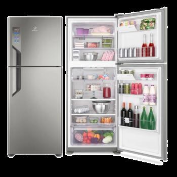 Geladeira | Refrigerador Top Freezer 431L Inox TF55- Electrolux