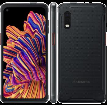 """Smartphone Samsung Galaxy Xcover Pro Preto 64GB, 4GB RAM, Tela Infinita de 6.3"""", Câmera Traseira Dupla, Android 10 e Processador Octa-Core"""
